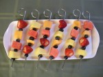 fruit skewer super skewer grill time llc