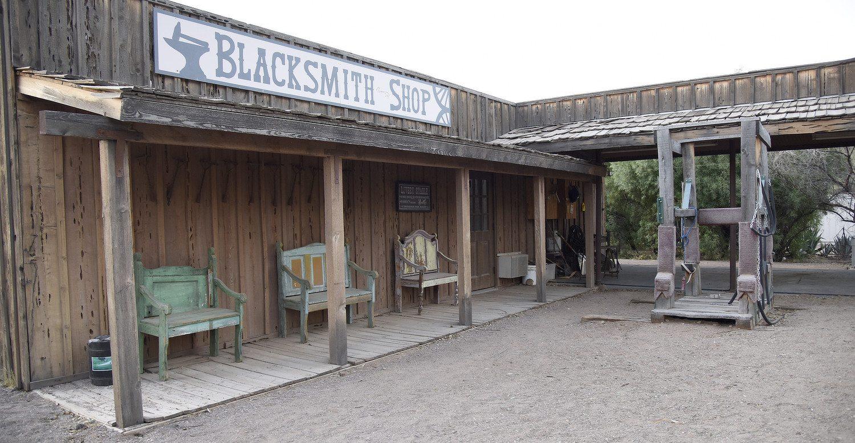 Blacksmith Shop at White Stallion Ranch