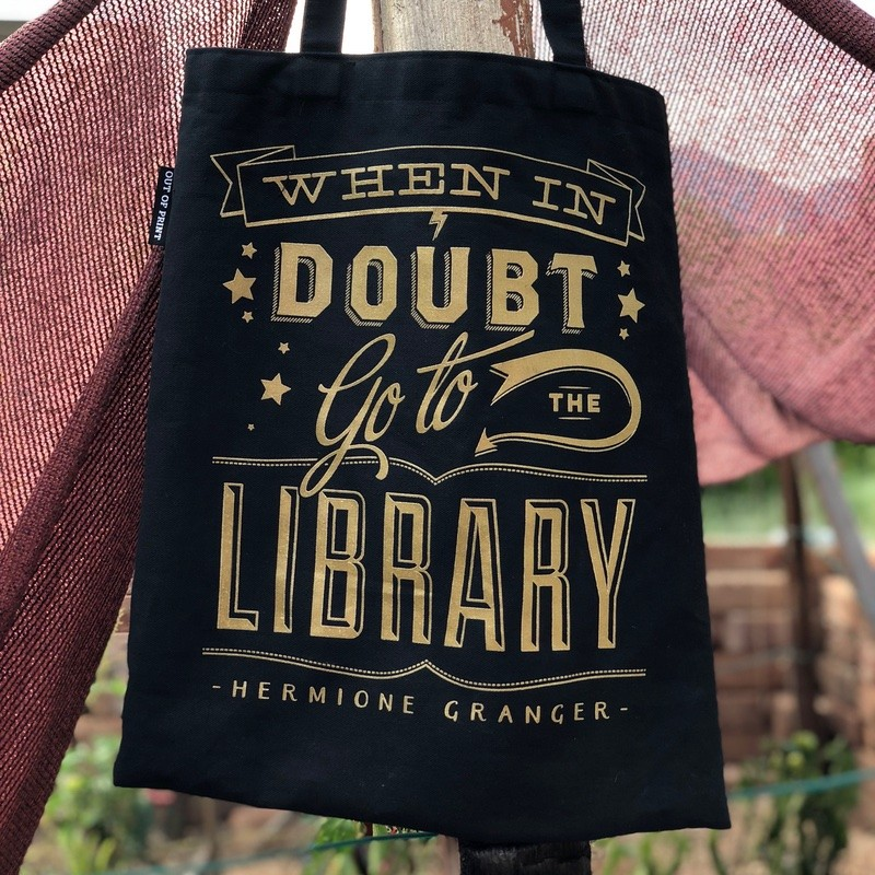 when in doubt go to the library quote
